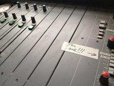 John Peel's Desk by JohnPeelArchive, via Flickr
