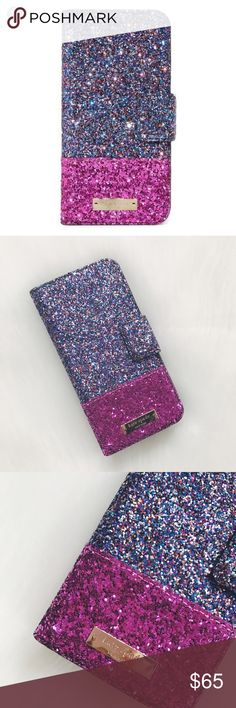 🖤 S A L E 🖤 Kate Spade iPhone 7 Multi Jewel Case Kate Spade iPhone 7 Multi Jewel Folio Case, magnetic tab closure, card slots, interior mirror, chunky glitter faux leather/resin, 14 karat gold plated hardware. HARD GLITTER, WILL NOT FALL OFF. Brand new.                            🐣n o • t r a d e s🐣                    s m o k e • f r e e • h o m e             s a m e/n e x t • d a y • s h i p p i n g kate spade Accessories Phone Cases