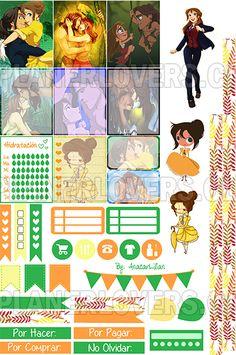 El rey de la selva y el amor de su vida: Tarzan y Jane Simplemente: L O V E ♥ No olvides subir una foto usando los stickers de PlannerLovers.cl y etiquétame (@anacarlilian) para aparecer en la pró…