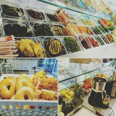 #lunchtime #sweetkingcafe #bagelbar #salad #makeyourdish
