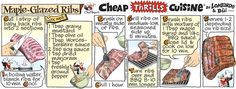 Cheap Thrills Cuisine on Gocomics.com