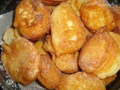 Minišišky - recept   Varecha.sk Portuguese Sweet Bread, Portuguese Desserts, Portuguese Recipes, Portuguese Food, Appetizer Recipes, Snack Recipes, Dessert Recipes, Cooking Recipes, Bread Recipes