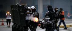 InfoNavWeb                       Informação, Notícias,Videos, Diversão, Games e Tecnologia.  : Manifestantes e polícia entram em conflito em fren...
