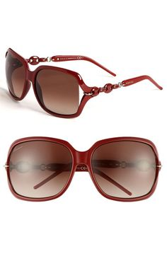 de35df15546f Gucci  Marina Chain  59mm Oversized Sunglasses Oversized Sunglasses