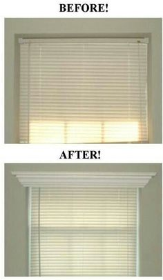Do you have some simple blinds that are functional and practical but just seem to be missing something? Well, add a stylish crown molding valance that will make the look of any window pop. - See more at: http://www.free-home-decorating-ideas.com/Window-Covering-Ideas.html