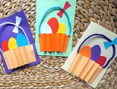 Fun Crafts For Kids, Projects For Kids, Preschool Activities, Art For Kids, Diy And Crafts, Arts And Crafts, Easter Art, Easter Crafts, Infant Activities