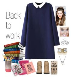"""""""Back To School.."""" by purplemonkeys005 ❤ liked on Polyvore featuring beauty, Wallis, Casetify, MBLife.com, Apt. 9, Simple Pleasures, Dot & Bo and aphrodite"""