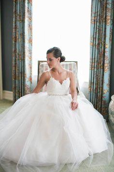 b913798c2236 Real Bride Paula Quinn wearing Alvina Valenta Alvina Valenta, Bridal Salon, White  Bridal,