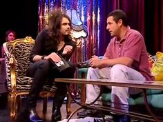 Russell Brand and Adam Sandler - funniest interview ever! - YouTube