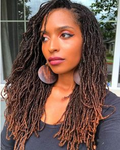 Dreadlock Hairstyles, Twist Hairstyles, Black Women Hairstyles, Cool Hairstyles, Relaxed Hairstyles, Wedding Hairstyles, Nattes Twist Outs, Curly Hair Styles, Natural Hair Styles