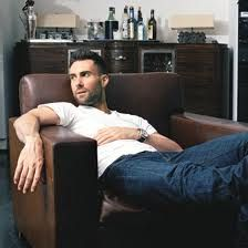 Adam Levine... I could look at him and listen to him sing all day