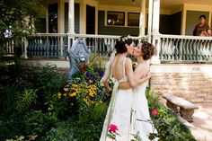 Real Gay Wedding Laporte, Colorado: Jennifer and Julie | So You're EnGAYged, A Gay Wedding Blog