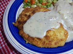 Chicken Fried Chicken With Milk Gravy