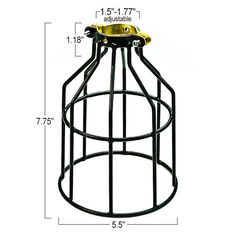 For Alex's ceiling fan.  Sporty/ Gym like quality instead of glass shades.  $3.99 each (plus shipping).  Soooo much cooler than glass shades, and less likely to break if he's throwing balls around in his room!  Metal Lamp Guard | Heavy Duty Bulb Cage | Brass and Black