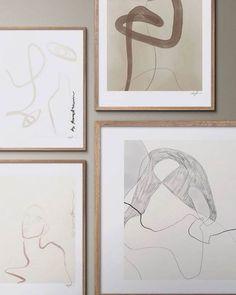 Anna Johansson via @annajohansson.official. Prints and frames, available online.� #art #artprints #tpc #theposterclub #interiordesign #nordicdecor #danishdesign #homestyling via @posterframe_journal #artwall