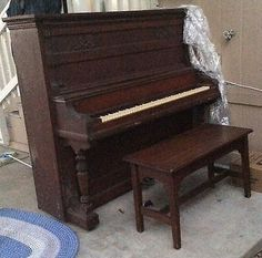 Upright Piano  Salyer & Son Conervatory Grand 22877