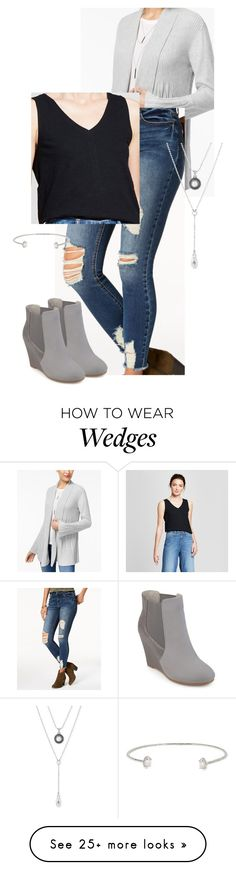 """""""Miranda W."""" by mloveless-1 on Polyvore featuring Style & Co., American Rag Cie, Lucky Brand, Journee Collection and Cole Haan"""