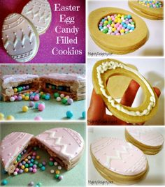 Childrens easter gift ideas gingerbugz pin this baby easter egg candy filled cookies negle Image collections