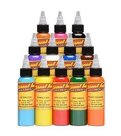 Moms Tattoo Ink, Best Tattoo Ink, Tattoo Ink Sets, Uv Tattoo, Tattoo Set, Eternal Tattoo Ink, Pigment Coloring, Tattoo Outline, Tattoo Supplies