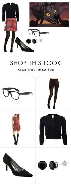 """""""Shenzi The Communication Deterioration Apartment"""" by brainyxbat ❤ liked on Polyvore featuring BANZAI, Cole Haan, Hot Topic, Oscar de la Renta and Calvin Klein"""