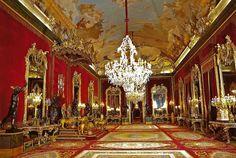 Royal Throne Room at Palacio Real de Madrid Spain   Flickr - Photo Sharing!