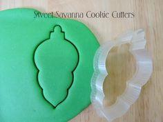 Christmas Bauble No.6 Cookie Cutter by SweetSavannaCookies on Etsy