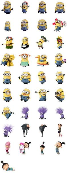 Despicable Me. I use these on Facebook chat all the time :)