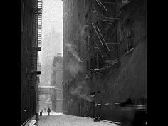 Photo by Eddie O'Bryan. Blizzard in Alleyway, Downtown NYC. City Photography, Vintage Photography, Black And White Artwork, Fire Escape, Alleyway, Lower Manhattan, Scenic Design, Gotham City, New York City