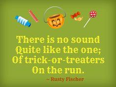 On the run... A Halloween poem