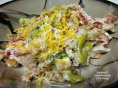 Ariane's Homemade Cravings: Cheesy Broccoli Chicken in Foil