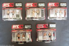 UFC Ultimate Micro Fighters Zuffa Jakks Pacific New in the Box NIB FREE SHIPPING #ZuffaJakksPacific