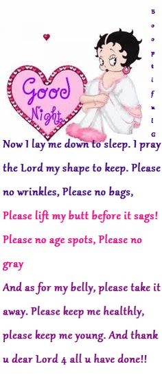 BB's Bedtime Prayer