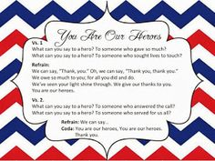 Make Music Rock!: Veterans' Day song and writing prompts