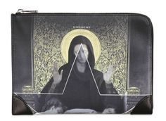Givenchy Madonna Print Zip Around Wallet | Luxify | Luxury Within Reach |