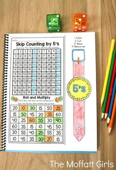 Why can't practicing multiplication facts be fun? Use these wearable Multiplication Watches to encourage your students to master multiplication facts. Plus, they come with 2 more fun activities- Skip Counting and a Roll and Multiply game!
