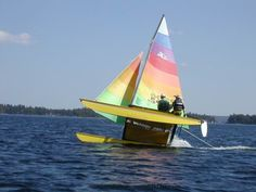 Hobie Cats - Yep!  This is what happens sometimes!