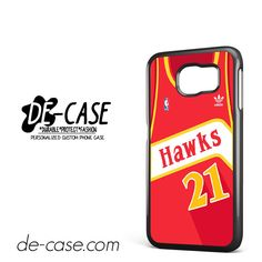 Hawks Basketball Jersey DEAL-5192 Samsung Phonecase Cover For Samsung Galaxy S6 / S6 Edge / S6 Edge Plus