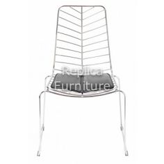 replica leaf wire chair