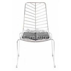 replica leaf wire chair