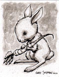Cute Bunny - by Gary Shipman