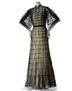 Robe, été 1937 ©Les Arts Décoratifs, Union française des Arts du costume / Patrick Gries