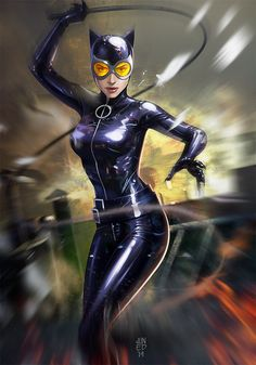 catwoman_by_junaidi-d7xo7oh