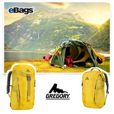 An eBags shoppable collage for October 2016 featuring Gregory. Fall camping at its finest! Outdoor Recreation, Travel Bags, Collages, Outdoor Gear, Tent, October, Camping, Fall, Travel Handbags