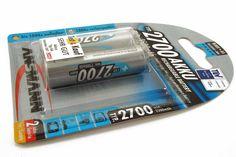Аккумулятор Ansmann Professional LR6 AA 2700mAh 2BL (цена за один элемент)  Аккумулятор Ansmann Professional LR6 AA 2700mAh 2BL (цена за один элемент)
