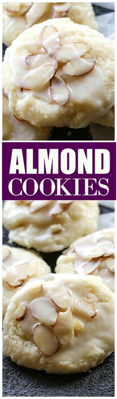 Almond Cookies - a family favorite we all love! the-girl-who-ate-...