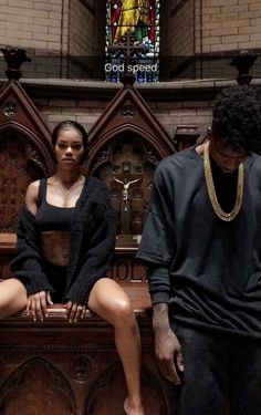 Teyana Taylor and her hubby Iman Shumpert after Yeezy Season 4 today! taylor and iman shumpert black love femmequeens Couple Goals, Black Couples Goals, Cute Couples Goals, Teyana Taylor, Pharrell Williams, Black Love, Black Is Beautiful, Kanye West Music Video, Mtv