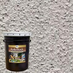 Royal Pearl Decorative Flat Interior/Exterior Concrete Floor Coating - 65005 - The Home Depot Concrete Floor Coatings, Concrete Resurfacing, Concrete Bricks, Concrete Floors, Painted Concrete Steps, Stained Concrete Porch, Painting Concrete Walls, Floor Painting, Concrete Patio