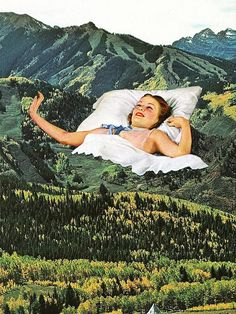 Rising Mountain / Eugenia Loli   What a great project inspiration for photography or multimedia classes!: