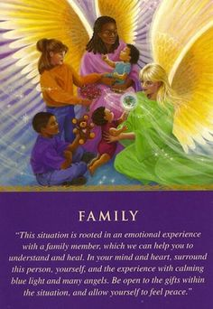 Daily Guidance from Your Angels: Family