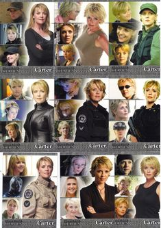 Stargate SG1 - Samantha Carter . She is such a cool character and the way Tapping plays her is lovely.